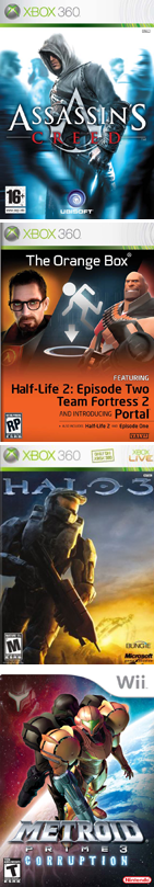 Must buy games of 2007
