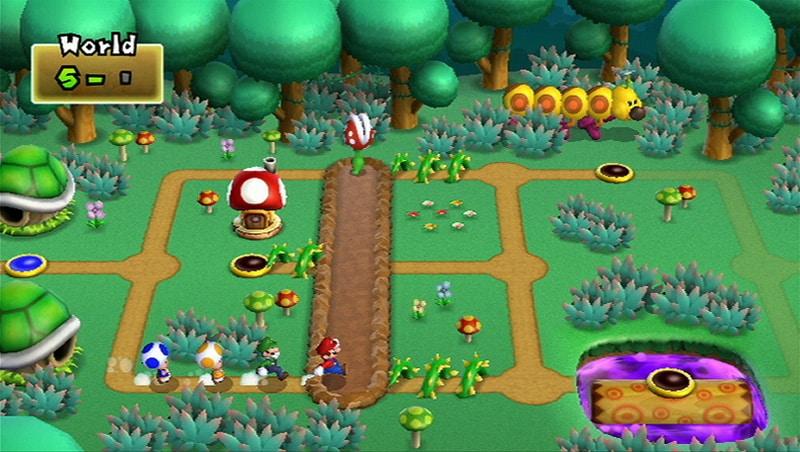 New super mario bros wii reels in nostalgic gamers matt brett the classic map screen is back publicscrutiny Gallery