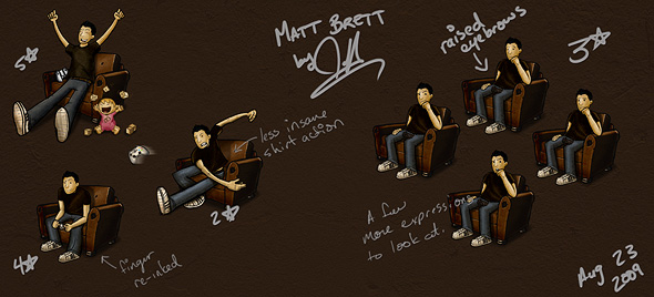 Matt Brett Redesign '09