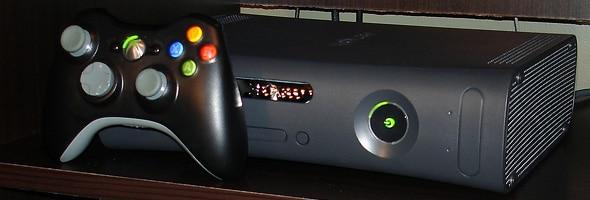 Xbox 360 Elite and Controller