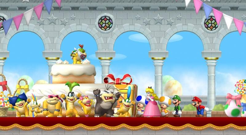 New Super Mario Bros Wii Reels In Nostalgic Gamers Matt Brett