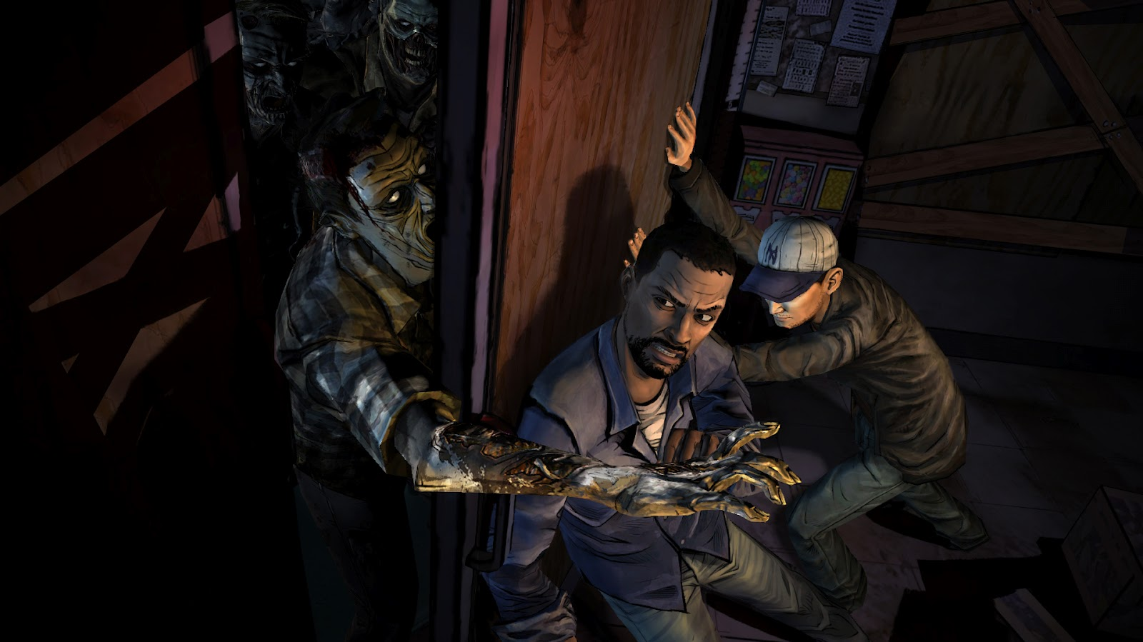 the walking dead saison 1 telltale games test Lageekroom blog gaming