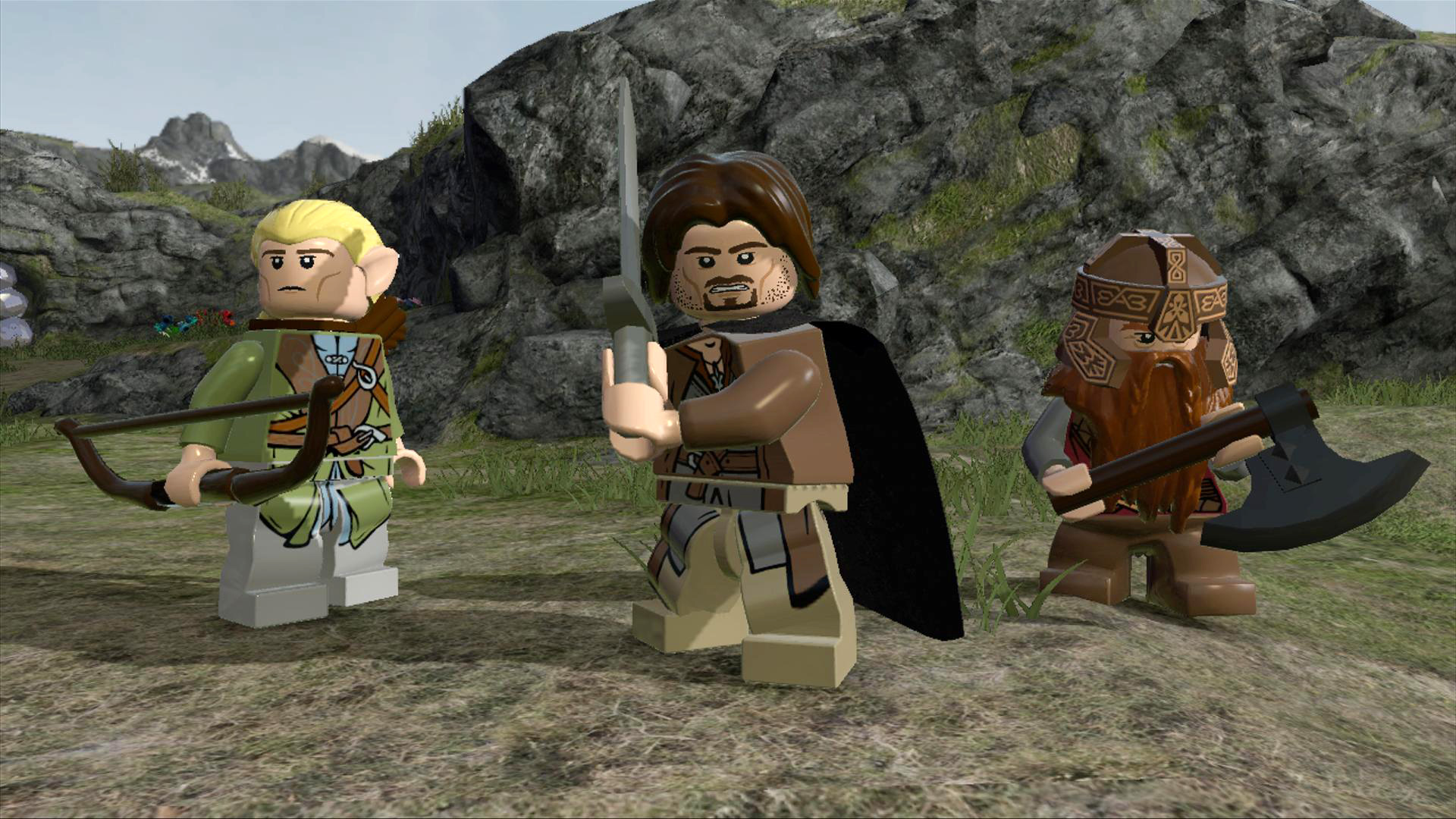 Lord Of The Rings LEGO Game