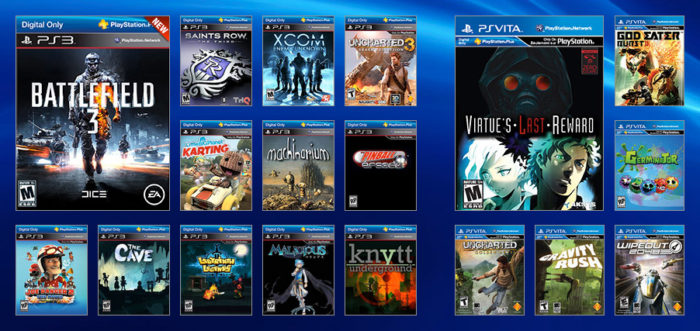 PlayStation Plus - July 2013