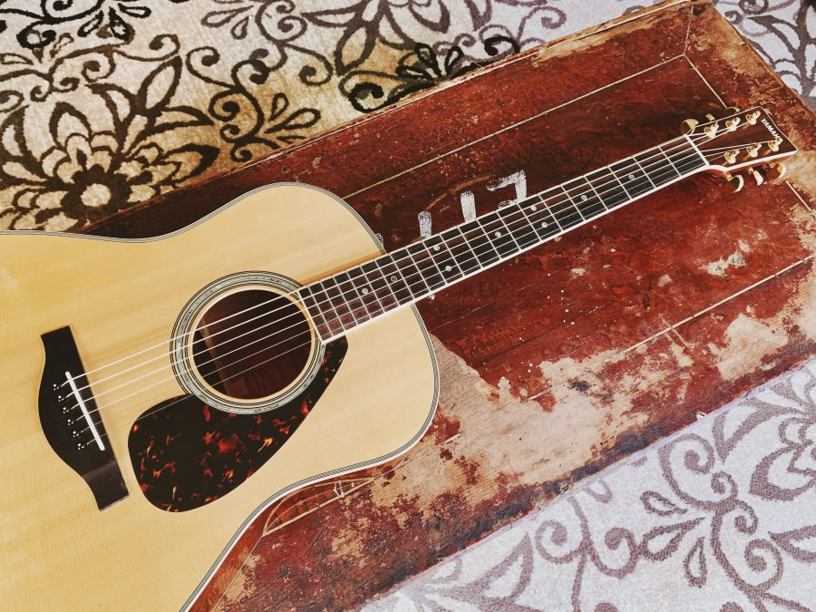 Yamaha LL16M acoustic guitar