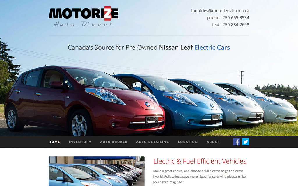 Motorize Auto Direct Inc.